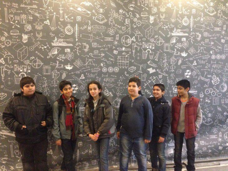 بازدید دانش آموزان مدرسه کسب و کار از پارک فن آموز