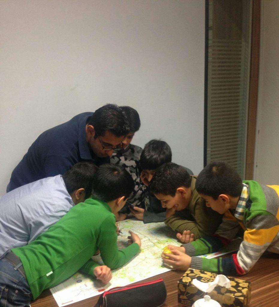 جلسه مشاركتى برنامه ريزى براى گشت بازار بزرگ تهران